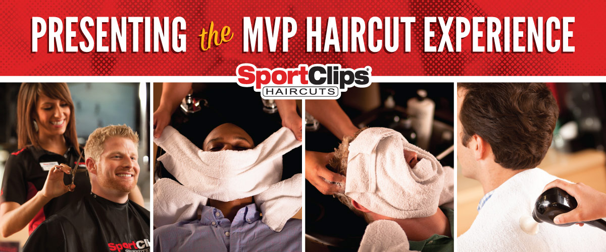 The Sport Clips Haircuts of Courthouse Place MVP Haircut Experience