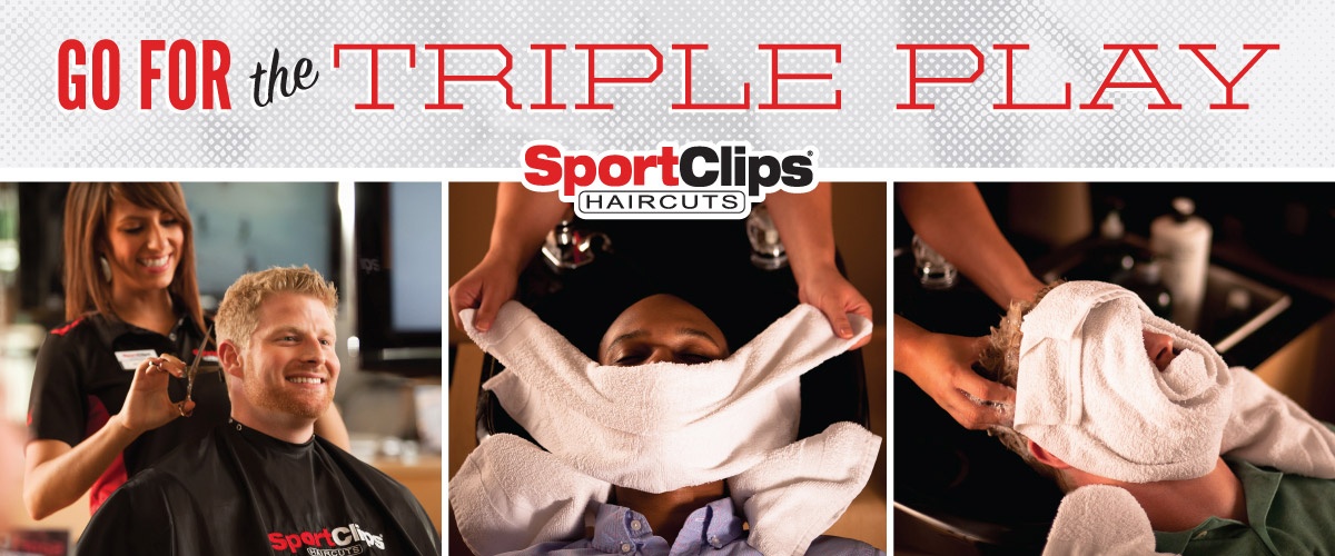 The Sport Clips Haircuts of Courthouse Place Triple Play